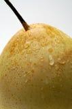 Plan rapproché (chinois) de poire de Nashi Photographie stock libre de droits