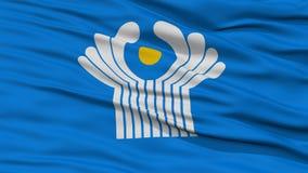 Plan rapproché CIS Flag Images stock