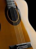 Plan rapproché classique de guitare Image libre de droits