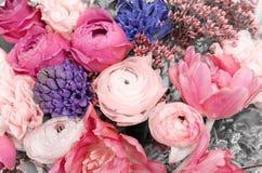 Plan rapproché coloré étonnant de bouquet Photographie stock