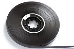 Plan rapproché compact de concept de bandes magnétiques de cassette sonore photo libre de droits