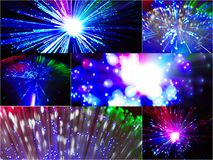 Plan rapproché créateur de lampes Images libres de droits
