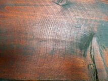 Plan rapproché criqué de conseil en bois Photographie stock