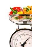 Plan rapproché d'échelle de cuisine Images stock