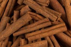 Plan rapproché d'épice de bâtons de cannelle Photo libre de droits