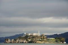 Plan rapproché d'île d'Alcatraz Photo libre de droits