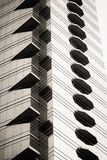 Plan rapproché d'abrégé sur gratte-ciel d'affaires photo libre de droits