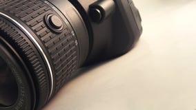 Plan rapproché d'appareil-photo Images stock
