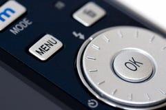 Plan rapproché d'appareil photo numérique Image stock