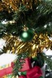 Plan rapproché d'arbre de Noël Image libre de droits