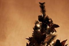 Plan rapproché d'arbre de Noël - détail photo stock