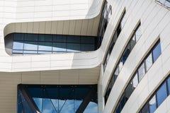 Plan rapproché d'architecture moderne Images libres de droits
