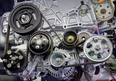 Plan rapproché d'engine Image stock