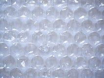 Plan rapproché d'enveloppe de bulle claire photographie stock libre de droits