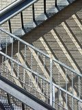 Plan rapproché d'escalier Images libres de droits