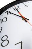 Plan rapproché d'horloge Photos libres de droits