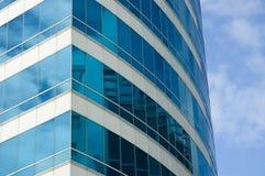 Plan rapproché d'immeuble de bureaux Photos stock