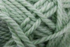 Plan rapproché d'instruction-macro de boucle de laines Image stock