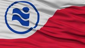 Plan rapproché d'Irving City Flag Images libres de droits