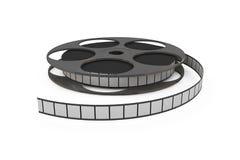 Plan rapproché d'isolement de bobine de film Photos stock
