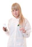 Plan rapproché d'un docteur féminin Image stock