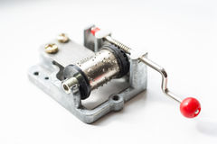 Jouet musical mécanique Photo stock
