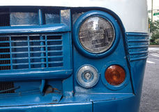 Plan rapproché d'un minibus de vintage Photo libre de droits