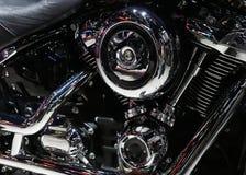 Plan rapproché d'un moteur de moto photo stock