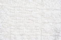 Plan rapproché d'une configuration de laine Images libres de droits