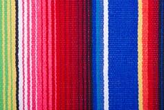 Plan rapproché d'une couverture de coton Image stock
