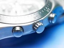 Plan rapproché d'une montre Photo stock