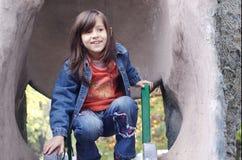 Plan rapproché d'une petite fille Photos libres de droits