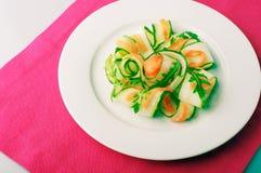 Plan rapproché d'une salade Photographie stock libre de droits
