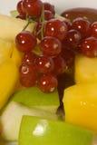 Plan rapproché d'une salade de fruits Photo stock