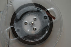 Plan rapproché de bande de bobine Photos libres de droits