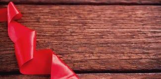 Plan rapproché de bande rouge Photographie stock libre de droits