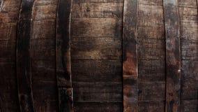 Plan rapproché de baril de brun foncé Images libres de droits