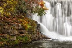 Plan rapproché de barrage de Lanesboro Photographie stock libre de droits