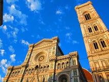 Plan rapproché de basilique de saint Mary de la fleur Images libres de droits