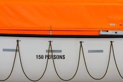 Plan rapproché de bateau de sauvetage Photographie stock