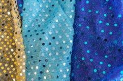 Plan rapproché de beau fond vibrant de textile image libre de droits