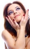 Plan rapproché de beau modèle Photo stock