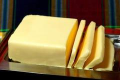 Plan rapproché de beurre Photo stock