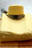 Plan rapproché de beurre Photographie stock