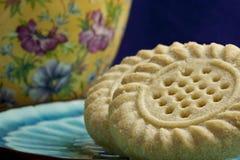 Plan rapproché de biscuits images stock
