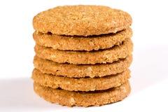 Plan rapproché de biscuits Image stock