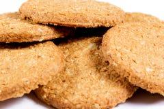 Plan rapproché de biscuits Photos libres de droits