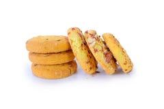 Plan rapproché de biscuits photographie stock