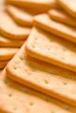Plan rapproché de biscuits avec des taches floues image libre de droits
