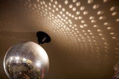 Plan rapproché de boule de disco Image libre de droits